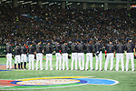 Japan team group (JPN), <br /> MARCH 12, 2017 - WBC : <br /> 2017 World Baseball Classic <br /> Second Round Pool E Game <br /> between Japan 8-6 Netherlands <br /> at Tokyo Dome in Tokyo, Japan. <br /> (Photo by YUTAKA/AFLO SPORT)