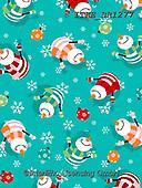 Isabella, GIFT WRAPS, GESCHENKPAPIER, PAPEL DE REGALO, Christmas Santa, Snowman, Weihnachtsmänner, Schneemänner, Papá Noel, muñecos de nieve, paintings+++++,ITKEBR1277,#gp#,#x#