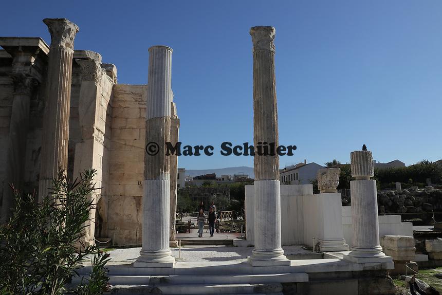 Bibliothek des Hadrian - 23.11.2017: Athen mit der Costa Deliziosa