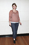 """Kellie Overbey.attending the Meet & Greet for the Playwrights Horizons production of """"Rapture, Blister, Burn'  at their rehearsal studio in New York City on 4/17/2012"""