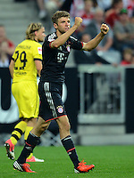 FUSSBALL   1. BUNDESLIGA   SAISON 2012/2013   SUPERCUP FC Bayern Muenchen - Borussia Dortmund            12.08.2012 Thomas Mueller (FC Bayern Muenchen)