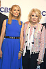 Cast of &quot;Murphy Brown&quot;, Faith Ford and Candice Bergen attend the CBS Upfront 2018-2019 at The Plaza Hotel in New York, New York, USA on May 16, 2018.<br /> <br /> photo by Robin Platzer/Twin Images<br />  <br /> phone number 212-935-0770