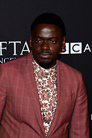 LOS ANGELES - JAN 6:  Daniel Kaluuya at the 2018 BAFTA Tea Party Arrivals at the Four Seasons Hotel Los Angeles on January 6, 2018 in Beverly Hills, CA