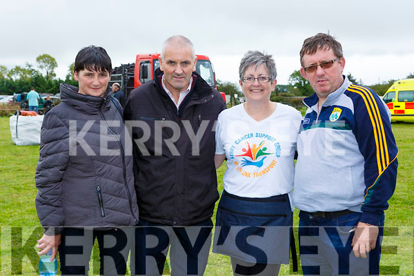 Sheila and Patrick Sheehan and Brendan O'Brien at the Threshing for Cancer in Beaufort on Sunday