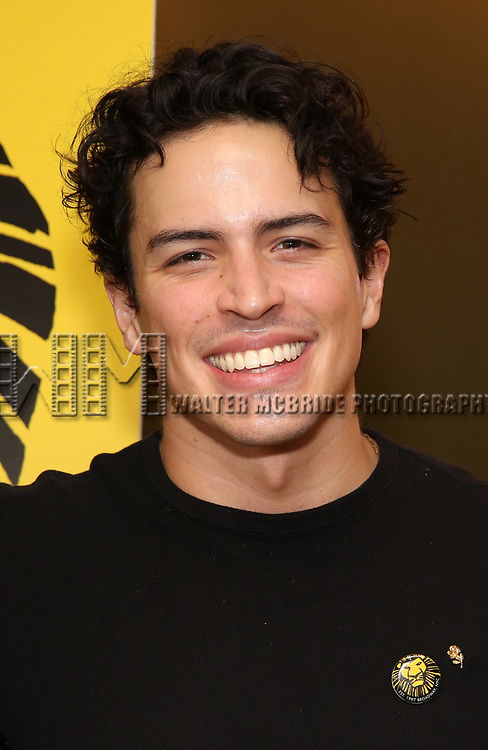 """Jacob Dickey attends the Broadway screening of the Motion Picture Release of """"The Lion King"""" at AMC Empire 25 on July 15, 2019 in New York City."""