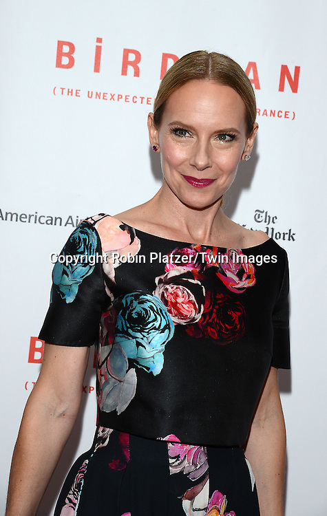 Amy Ryan attends &quot;Birdman or The Unexpected Virtue of Ignorance&quot; screening at The 52nd New York Film Festival on October 11, 2014 at Alice Tully Hall in New York City. <br /> <br /> photo by Robin Platzer/Twin Images<br />  <br /> phone number 212-935-0770