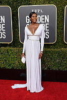 Dominique Jackson attends the 76th Annual Golden Globe Awards at the Beverly Hilton in Beverly Hills, CA on Sunday, January 6, 2019.<br /> *Editorial Use Only*<br /> CAP/PLF/HFPA<br /> Image supplied by Capital Pictures