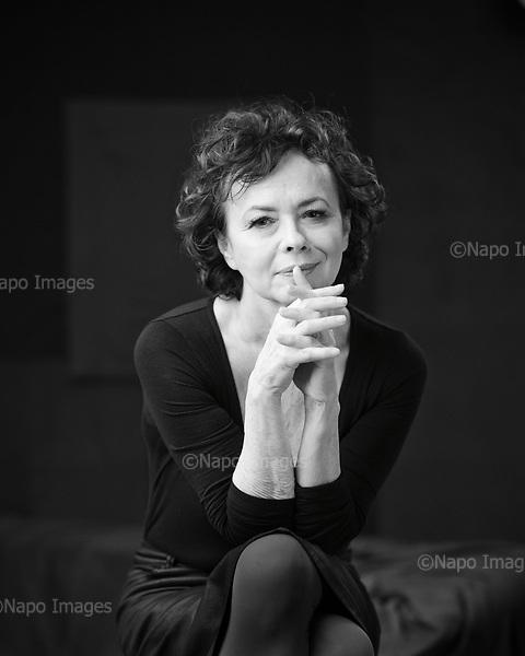 Warsaw 20 December 2017 Poland<br /> Joanna Szczepkowska is a Polish actress and writer. She appeared in more than thirty films since 1975.<br /> Photo by Filip Cwik / Napo Images <br /> <br /> Warszawa 20 grudzien 2017 Polska<br /> Joanna Szczepkowska  &ndash; polska aktorka teatralna, filmowa i telewizyjna, pisarka i felietonistka, pedagog; w 2010 prezes Związku Artyst&oacute;w Scen Polskich.<br /> fot. Filip Cwik / Napo Images