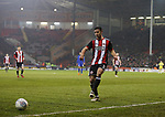 Enda Stevens of Sheffield Utd  during the Championship match at Bramall Lane Stadium, Sheffield. Picture date 02nd April, 2018. Picture credit should read: Simon Bellis/Sportimage