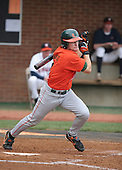 Dave DiNatale of the Miami Hurricanes vs. the Virginia Cavaliers: March 24th, 2007 at Davenport Field in Charlottesville, VA.  Photo copyright Mike Janes Photography 2007.