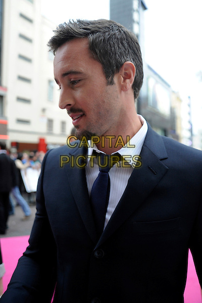 "ALEX O'LOUGHLIN.""The Back-Up Plan"" UK Film Premiere, Vue cinema Leicester Square, London, England, UK, 28th April 2010.half length black suit jacket profile goatee facial hair .CAP/IA.©Ian Allis/Capital Pictures."