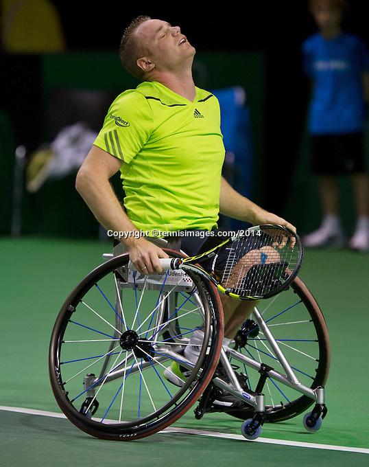 13-02-14, Netherlands,Rotterdam,Ahoy, ABNAMROWTT, Maikel Scheffers(NED) <br /> Photo:Tennisimages/Henk Koster