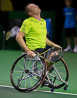 13-02-14, Netherlands,Rotterdam,Ahoy, ABNAMROWTT, Maikel Scheffers(NED) <br /> Photo:Tennisimages/Henk Koster