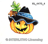 Interlitho, STILL LIFE STILLLEBEN, NATURALEZA MORTA, paintings+++++,KL4473/4,#i# stickers,halloween, pumpkin,