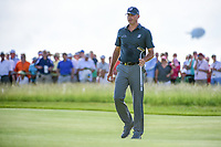 Matt Kuchar (USA) after sinking his putt on 11 during Thursday's round 1 of the 117th U.S. Open, at Erin Hills, Erin, Wisconsin. 6/15/2017.<br /> Picture: Golffile | Ken Murray<br /> <br /> <br /> All photo usage must carry mandatory copyright credit (&copy; Golffile | Ken Murray)