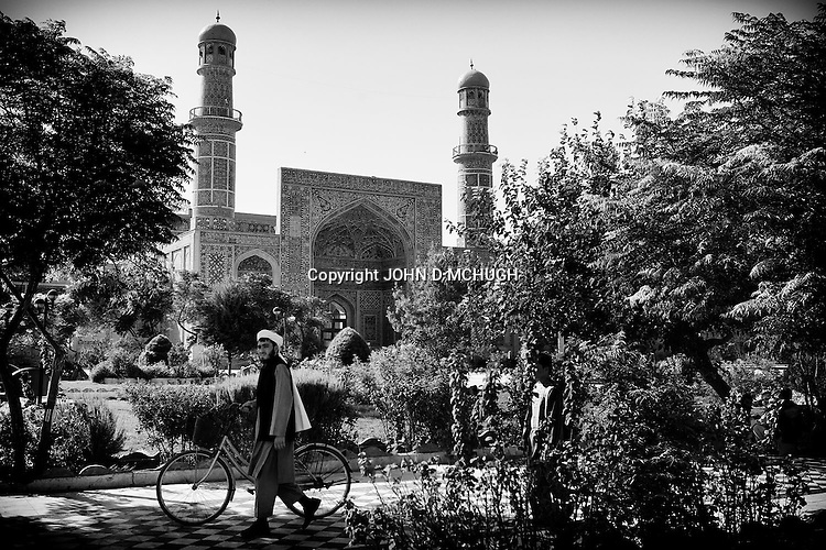 The Friday Mosque is seen in Herat, 20 September 2013. (John D McHugh)