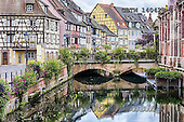 Tom Mackie, LANDSCAPES, LANDSCHAFTEN, PAISAJES, photos,+Alsace, Colmer, EU, Europa, Europe, European, France, antique, architecture, blue, bridge, building, buildings, city, colmar,+color, colorful, colour, colourful, facade, half-timbered, historic, holiday destination,home, horizontal, horizontals, hous+e, houses, old, pattern, reflect, reflected, reflecting, reflection, reflections, river, timbered-house, tourism, town, tradi+tional, travel, water, window, windows, wine, wood, yellow,Alsace, Colmer, EU, Europa, Europe, European, France, antique, arc+,GBTM140428-1,#L#