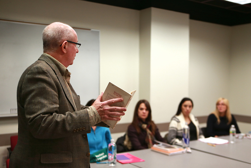 John Skoyles' graduate poetry workshop.