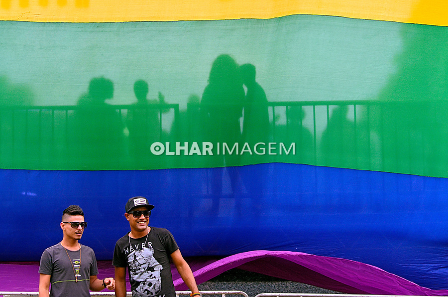 Manifestaçao da diversidade gay  Parada Livre, Porto Alegre. Rio Grande do Sul. 2018. Foto de Luiz Achutti