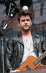 Jared Followill - bass, Kings of Leon at Discovery Green - Final Four Tour