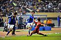 (L to R) Hiroki Sakai (JPN), Keigo Higashi (JPN),.NOVEMBER 27, 2011 - Football / Soccer : Men's Asian Football Qualifiers Final Round for London Olympic Match between U-22 Japan 2-1 U-22 Syria at National Stadium in Tokyo, Japan. (Photo by Jun Tsukida/AFLO SPORT) [0003] .