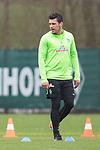 14.04.2018, Trainingsgelaende, Bremen, GER, 1.FBL, Training SV Werder Bremen<br /> <br /> im Bild<br /> Zlatko Junuzovic (Werder Bremen #16), <br /> <br /> Foto &copy; nordphoto / Ewert