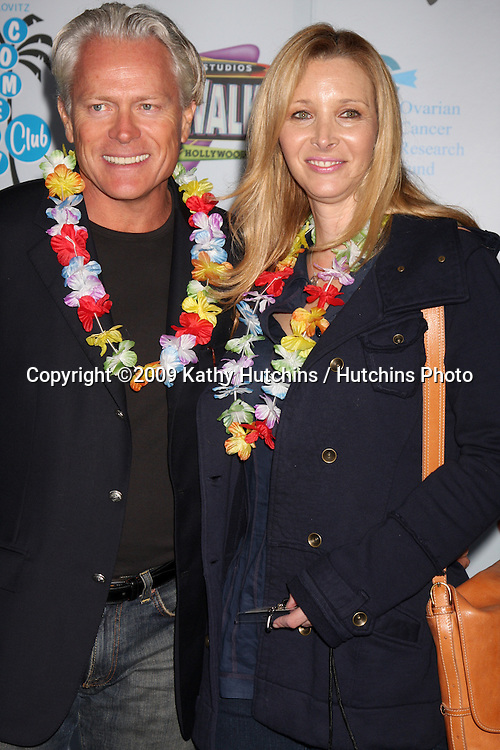 Lisa Kudrow & husband Michel  arriving at the Grand Opening of The Jon Lovitz Comedy Club at Universal City Walk in Los Angeles, CA  on May 28, 2009 .©2009 Kathy Hutchins / Hutchins Photo..
