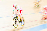 Gael Suter of Switzerland competes in the Men's Omnium Finals during the 2017 UCI Track Cycling World Championships on 15 April 2017, in Hong Kong Velodrome, Hong Kong, China. Photo by Marcio Rodrigo Machado / Power Sport Images
