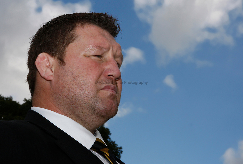 Photo:Richard Lane/ Richard Lane Photography. London Wasps v Treviso Rugby. Pre Season Friendly. 27/08/2011. Wasps' Director of Rugby, Dai Young.