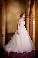 Bonsoire Bridal Wedding Dress Photoshoot at the Westone Manor Hotel Northampton
