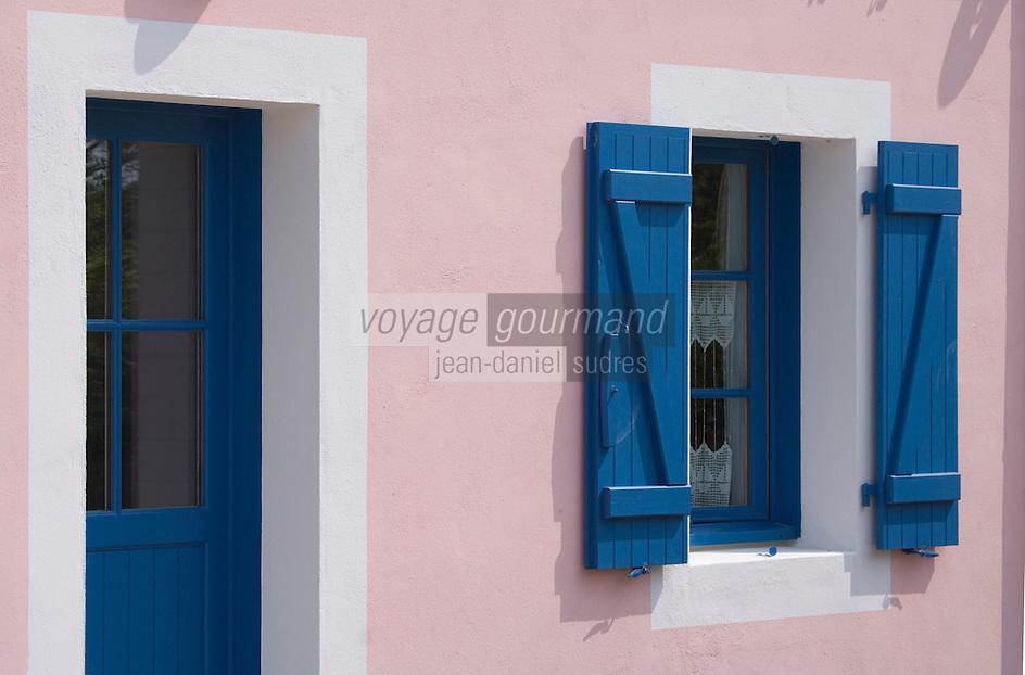 """Europe/France/Bretagne/56/Morbihan/Belle-Ile:/  Bangor:  Hotel-Restaurant """" La Désirade """" rte de Port-Goulphar"""