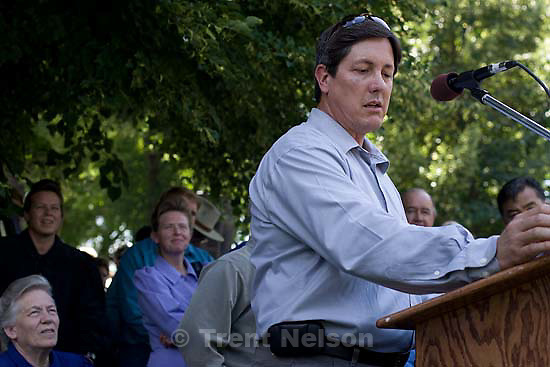 Salt Lake City - A hearing held at the Matheson Courthouse Wednesday, July 29, 2009 to decide on the sale of the Berry Knoll property in the United Effort Plan (UEP) land trust..lyle jeffs