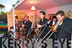 Tralee band avatar performing for Culture night in front of Siamsa Tire, Tralee on Friday evening.