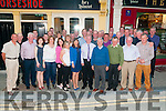 Retirement Party :Tom Dunne, Moyvane celebrating his retirement after 33 years with Kerry County Council with family & work colleagues at a surprise party at Behan's Horseshoe Bar & Restaurant, Listowel on Friday night last.
