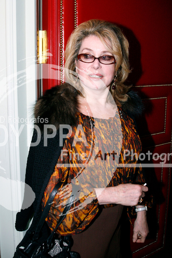 Actress Catherine Deneuve during the pressconference Cinema for Peace at Hotel Adlon, Berlin