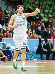 ****BETALBILD**** <br /> Uppsala 2015-04-24 Basket SM-Final 3 Uppsala Basket - S&ouml;dert&auml;lje Kings :  <br /> S&ouml;dert&auml;lje Kings Aaron Andersson gestikulerar under matchen mellan Uppsala Basket och S&ouml;dert&auml;lje Kings <br /> (Foto: Kenta J&ouml;nsson) Nyckelord:  Basket Basketligan SM SM-final Final Fyrishov Uppsala S&ouml;dert&auml;lje Kings SBBK portr&auml;tt portrait
