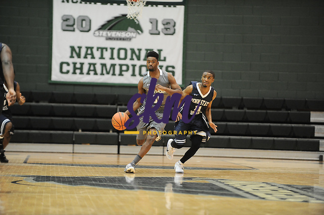 Stevenson men's basketball took their first win of the season, with a 84-82 victory over Penn State Berks on Saturday afternoon at Owings Mills gymnasium.