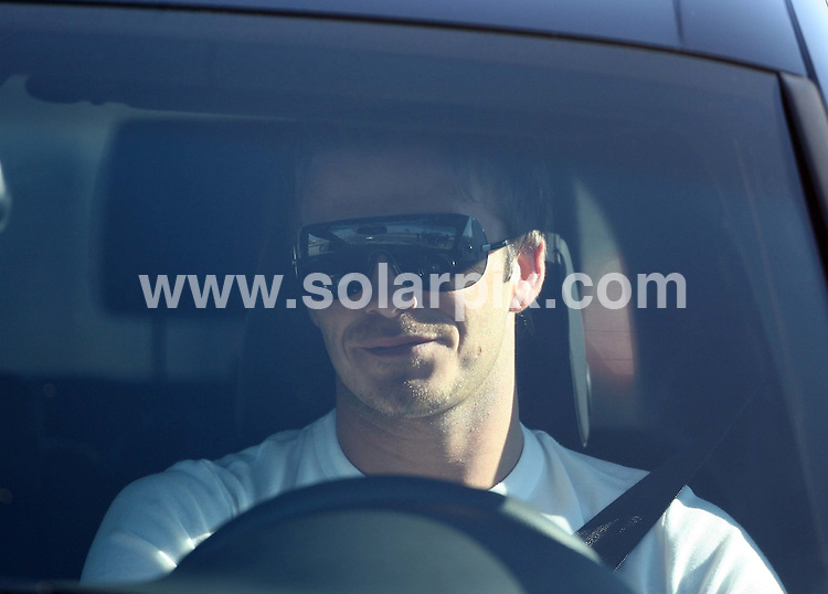 **ALL ROUND PICTURES FROM SOLARPIX.COM**.**WORLDWIDE SYNDICATION RIGHTS**.ALL ROUND EXCLUSIVE PICTURES FROM SOLARPIX.COM .David Beckham leaving training today in Madrid after the breaking news of David's 128 million GBP deal to sign with US football league team LOS ANGELES GALAXY on 11.01.07. DATE: 11/01/07-JOB REF: 3219-EBR **MUST CREDIT SOLARPIX.COM OR DOUBLE FEE WILL BE CHARGED**..