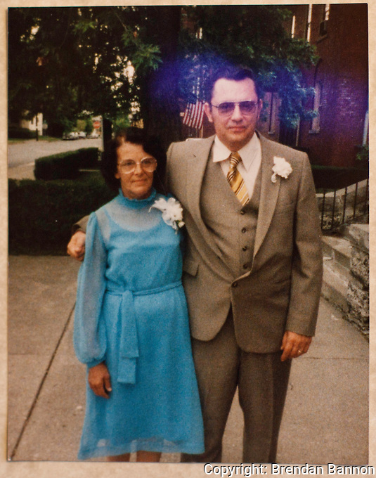 Al and Alice Nachreiner at the  wedding of their son Bill in 1984.