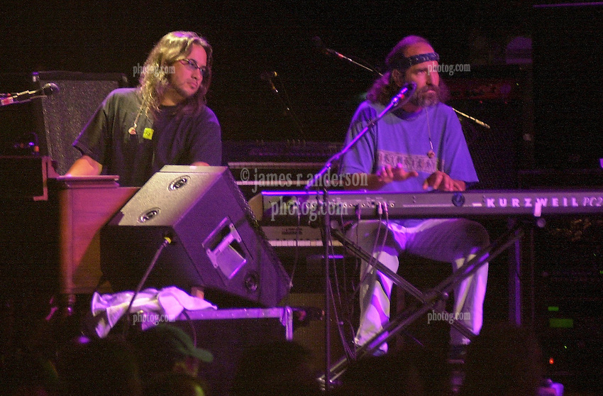 Jeff Chiment & Rob Barraco peforming with The Dead in concert at Saratoga Performing Arts Center 20 June 2003