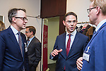 BRUSSELS - BELGIUM - 28 November 2016 -- Inauguration of the Nordic Energy Office. -- Olaf Ulsteth, CEO of Enery Norway (Energi Norge), Jyrki Katainen, Vice-president of the European Commission, responsible for Jobs, Growth, Investment and Competitiveness and Anders Stouge, Dansk Energi. -- PHOTO: Juha ROININEN / EUP-IMAGES