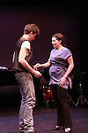 """Maddy Apple & Sebastiani Romagno at """"Union Women at Work: Inspiration In Motion"""" on March 5, 2012 at Theatre at Saint Peter's Church - Home of The York Theatre, New York City, New York which was """"sponsored by Actors' Equity Associations Eastern EEO Committee.  The event was an Equity event in celebration of Womens History Month.  (Photo by Sue Coflin/Max Photos) (Photo by Sue Coflin/Max Photos)"""