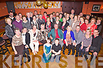 Celebrating their golden anniversary was Maria and John Gearey from Ballynagraigue, Abbeyfeale pictured here with many family an friends last Saturday night in The Devon Inn, Templeglantine.