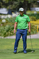 Hideki Matsuyama (JPN) watches his putt on 6 during round 1 of the World Golf Championships, Mexico, Club De Golf Chapultepec, Mexico City, Mexico. 2/21/2019.<br /> Picture: Golffile | Ken Murray<br /> <br /> <br /> All photo usage must carry mandatory copyright credit (© Golffile | Ken Murray)