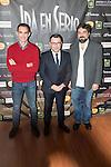 "Jorge Javier Vazquez during the presentation of his new theater play ""Iba en serio"" in Madrid, November 19, 2015<br /> (ALTERPHOTOS/BorjaB.Hojas)"