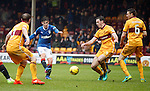 Emerson Hyndman scores the second goal for Rangers