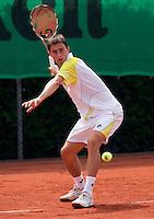 13-8-09, Den Bosch,Nationale Tennis Kampioenschappen, Kwartfinale, Evthimios Karaliolios