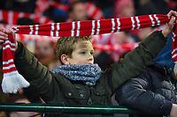 KV KORTRIJK - STANDARD LUIK :<br /> sfeer bij de supporters van KV Kortrijk na de overwinning<br /> <br /> Foto VDB / Bart Vandenbroucke