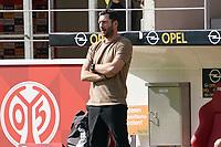 Trainer Sandro Schwarz (1. FSV Mainz 05) - 14.09.2019: 1. FSV Mainz 05 vs. Hertha BSC Berlin, 4. Spieltag Bundesliga, OPEL Arena<br /> DISCLAIMER: DFL regulations prohibit any use of photographs as image sequences and/or quasi-video.