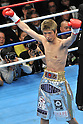 Yota Sato (JPN),.MARCH 27, 2012 - Boxing :.Yota Sato of Japan poses before the WBC super flyweight title bout at Korakuen Hall in Tokyo, Japan. (Photo by Hiroaki Yamaguchi/AFLO)